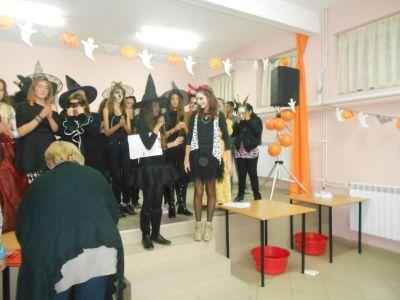 Хелоуин парти - Първо ОУ Св. Св. Кирил и Методий - Гоце Делчев
