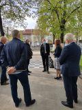 Среща с министъра на образованието и науката - Първо ОУ Св. Св. Кирил и Методий - Гоце Делчев
