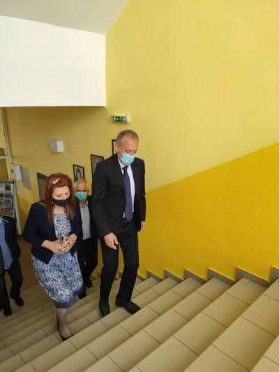 Среща с министъра на образованието и науката 3