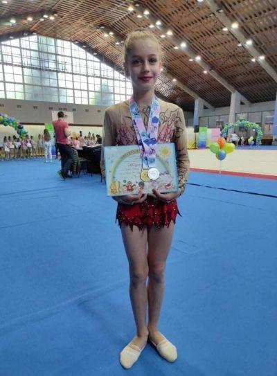 Успех на наша гимнастичка 1