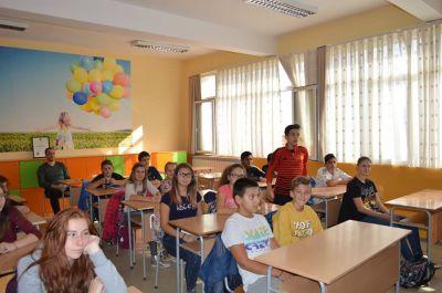Запознанство на учениците от VIIб клас с най-здравословната храна 2