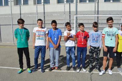 Училищния турнир по футбол за ученици от шести и седми клас приключи 2