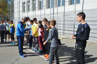 Училищния турнир по футбол за ученици от шести и седми клас приключи 8