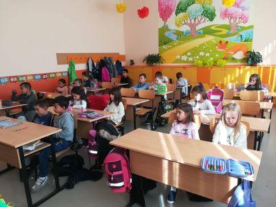 Националната седмица на четенето учениците от I б клас 1