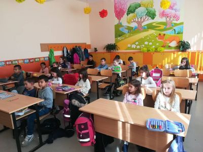Националната седмица на четенето учениците от I б клас 3