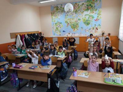 Националната седмицата на четенето учениците от 2 Б клас 3