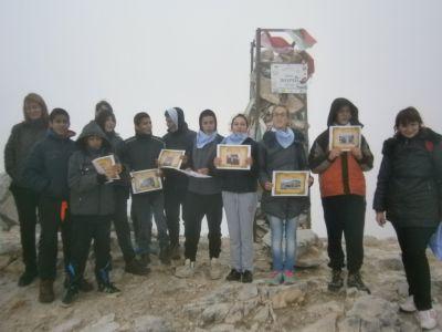 На връх Вихрен - Първо ОУ Св. Св. Кирил и Методий - Гоце Делчев